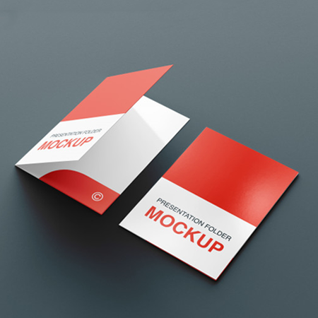 Folders- Presentation, Custom Shaped