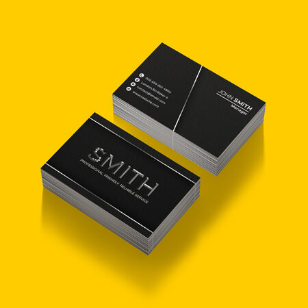 Business Cards - Textured