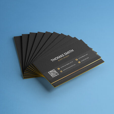 Business Cards - Gold Foil