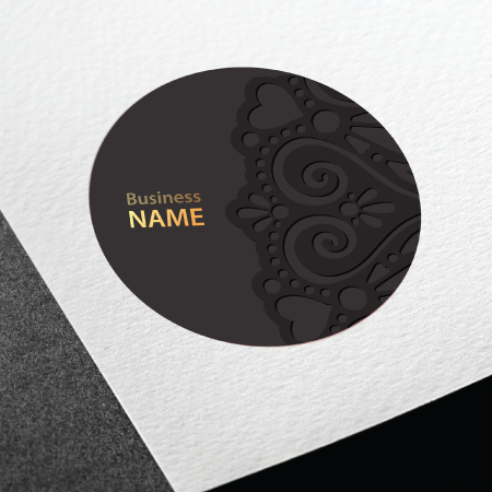 Business Cards - Circle