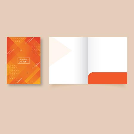 Pocket Folders - A4 ready Shape2