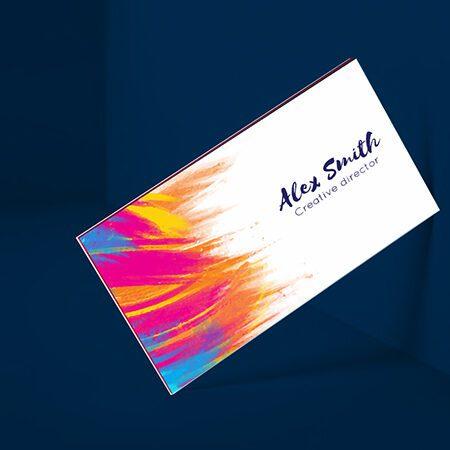 Business Cards- Triplex