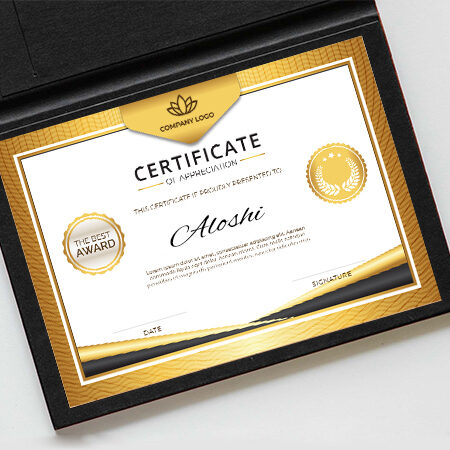 Certificates - Express