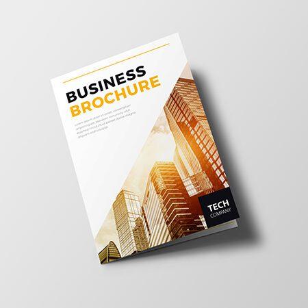 Staple-free Brochures